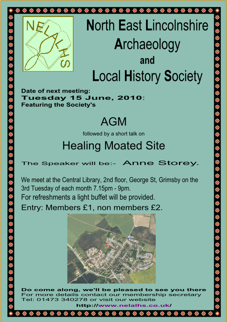 23 June poster for AGM & Healing moated